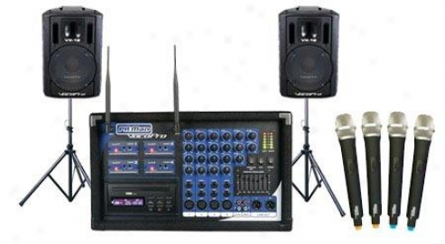 Vocopro Four Channel All-in-one P.a. System