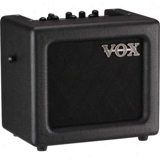 Vox Mini 3 Modeling Guifar Amplifier - Black