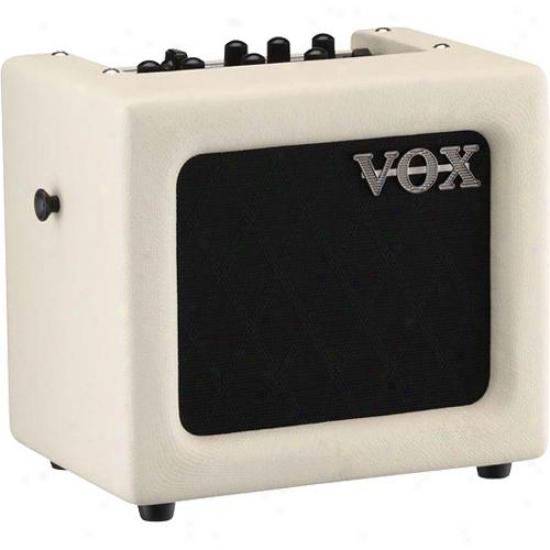 Vox Min3 Modeling Guitar Amplifier - Ivory