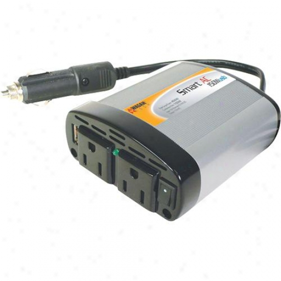 Wagan Tech 2401 150-watt Smartac Usb Inverter