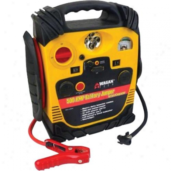 Wagan Tech 2544 500-watt Battery Jumpstarte rWith Air Compressor