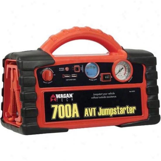 Wagan Tecj 700-amp Avt Juumpstarter - 2595
