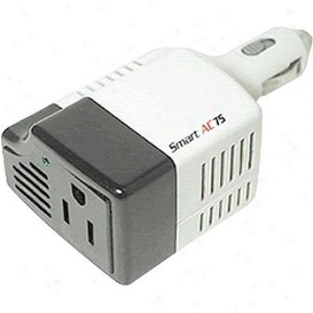 Wagan Tech Smart Ac 75 Watt Inverter 2107