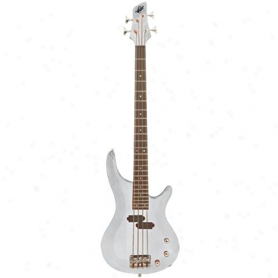 Washburn Oscar Schmidt Ob50 Solid Body Bass Guitar - White