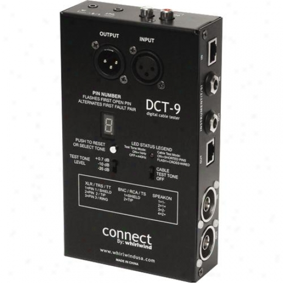 Whirlwind Dct-9 Cable Tester