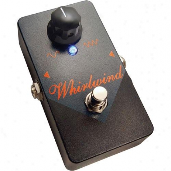 Whirlwinc Orange Box Phaser Pedal - Rochester Seriws