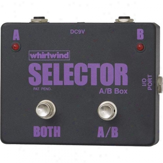Whirlwind Silent Instrument Selector Switch