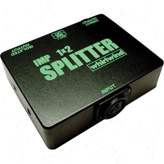 Whirlwind Sp1x2 Mic Splitter