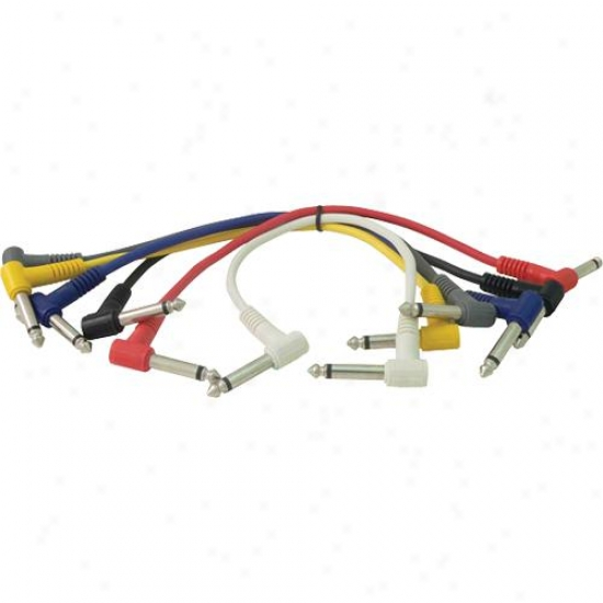 Whirlwind Xp280ra Patch Cord - 6-pack