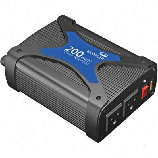 Whistler Pro-200w 200-watt Power Inverter