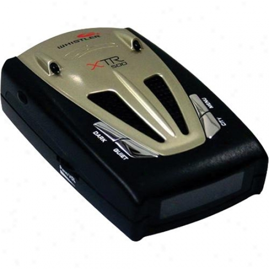 Whistler Xtr-500 Radar Detector
