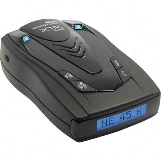 Whistler Xtr-540 Laser/radar Detector