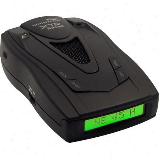 Whistler Xtr695se Radar/laser Detector
