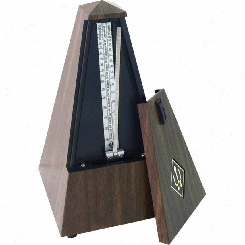 Wittner 845131 Maelzel Mechanical Metronome - Walnut Grain