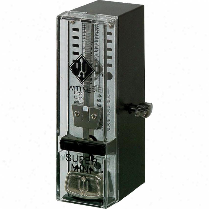 Wittner Taktell Super-mini Metronome - Black - 886051