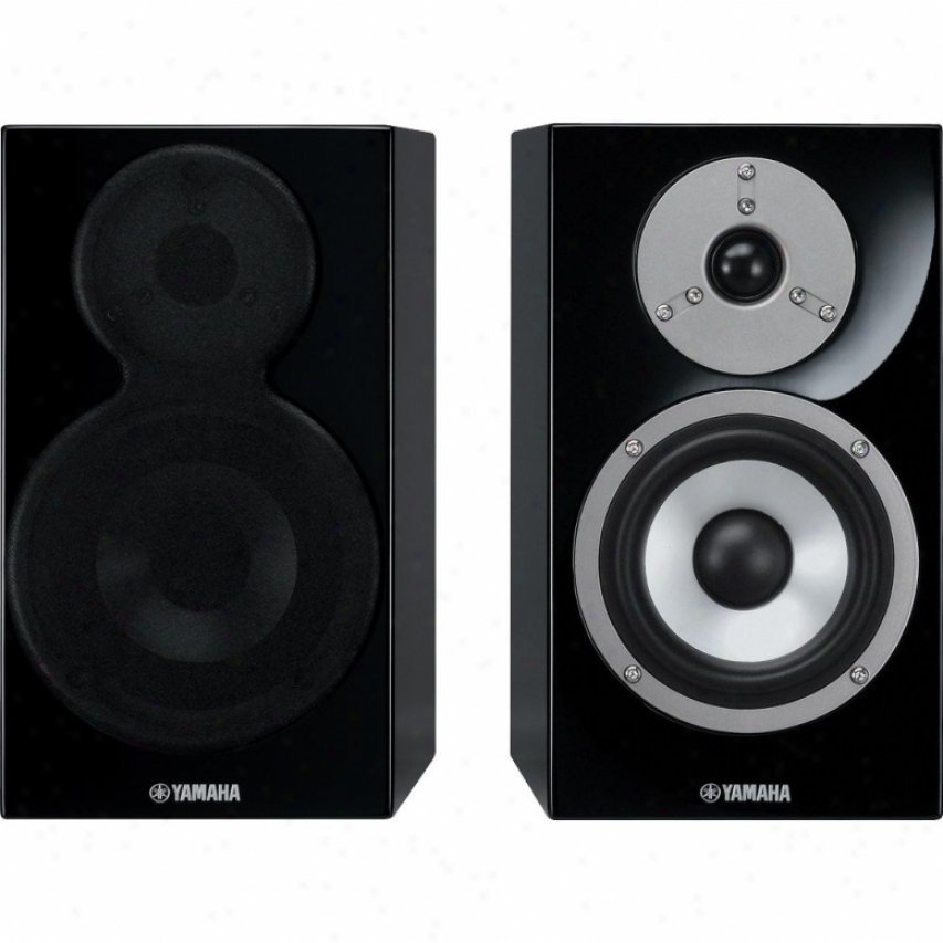 Yamaha 2-way Bookshelf Speaker Ns-bp400 Piano Black