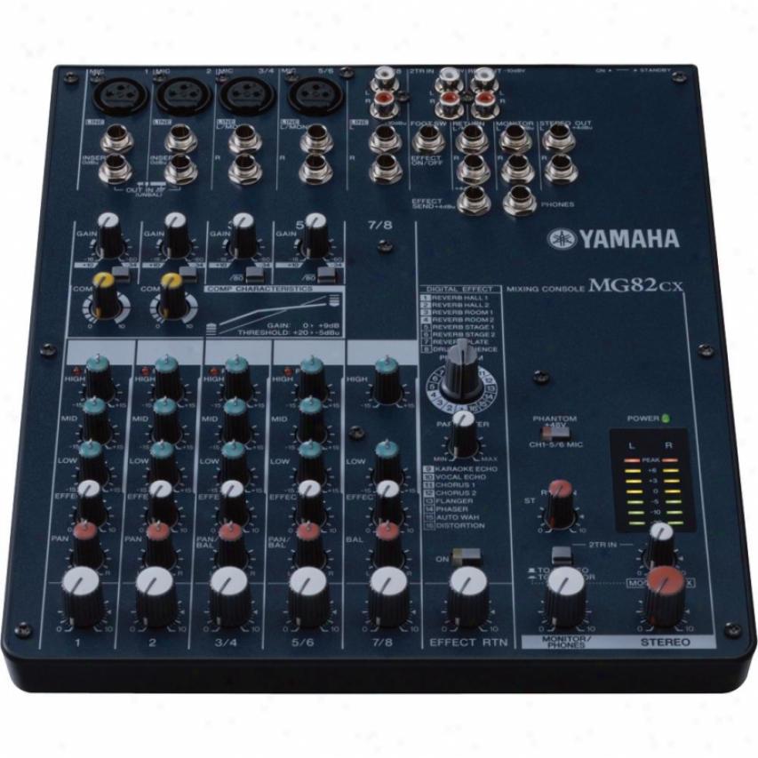 Yamaha 8-input Stereo Mixer Upon Digital Effects