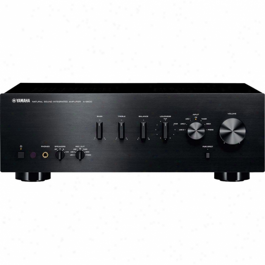 Yamaha A-s500 Integrated Stereo Amplifier - Black