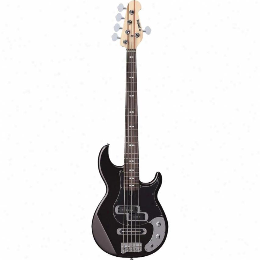 Yamaha Bb425x 5 String Passive Electric Bass Guitar - Tobacco Sunbrust