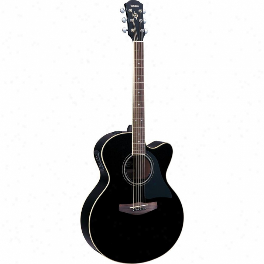 Yamaha Cpx500ii Acoustic-electric Guitar - Black