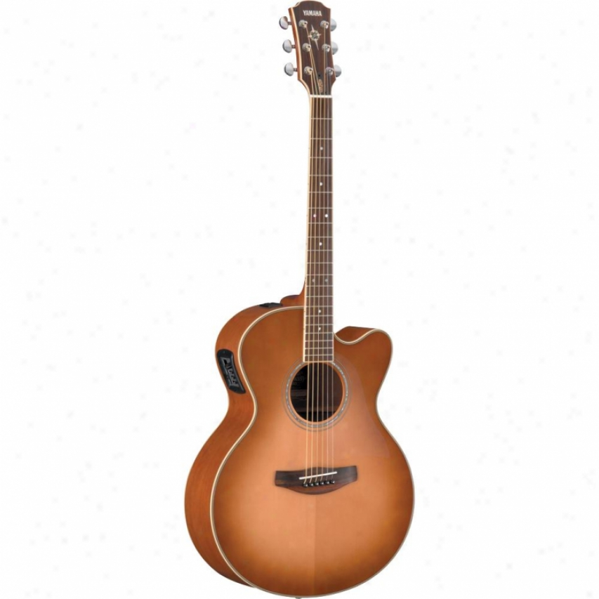 Yamaha Cpx700ii Acoustic-electric Guitar - Sand Burst