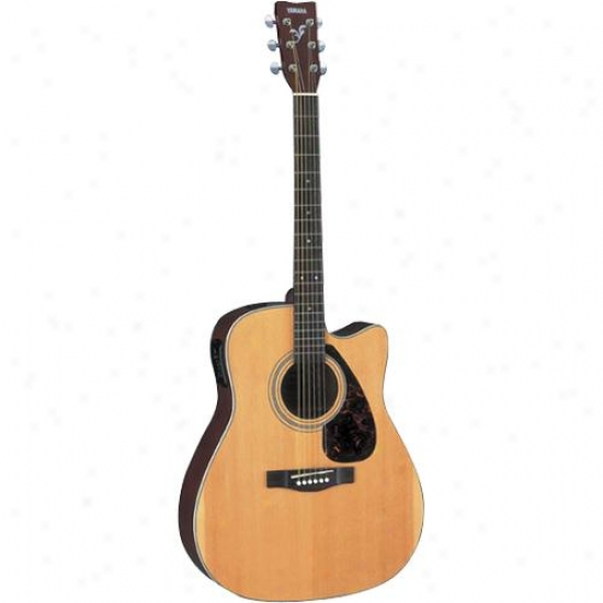 Yamaha Fx370c Acoustic Lightning-like Guitar F Series Cutaway