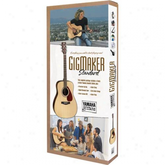 Yamaha Gigmakerstd Gigmaker Standrd Acoustic Guitar Package