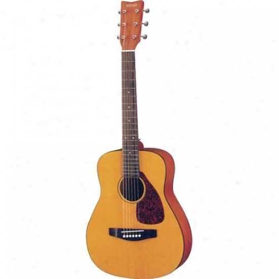 Yamaha Jr 3/4 Size Folk Style Acoustic Guitar With Ggi Bag