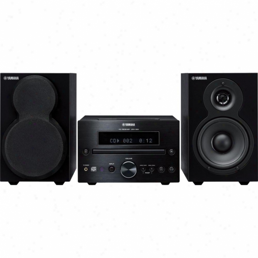 Yamaha Mcr-232 Micro Audio System - Black
