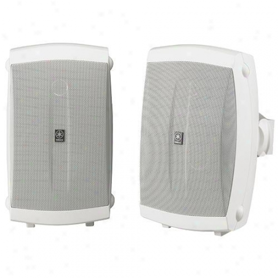 Yamaha Ns-aw150w Indoor / Outdoor Speakers - White ( Pair )