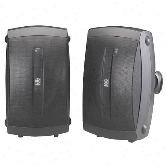 Yamaha Nw-aw350 Indoor / Outdoor Speakers - Black ( Pair )