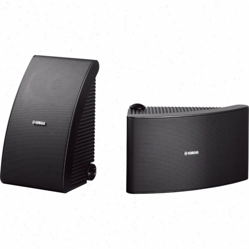 Yamaha Ns-aw592bl Indoor/outdoor Spdaker System - Blaco - Span