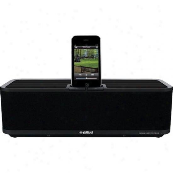 Yamaha Open Box Pdx30bl Ipod Iphone Dock Speaker System