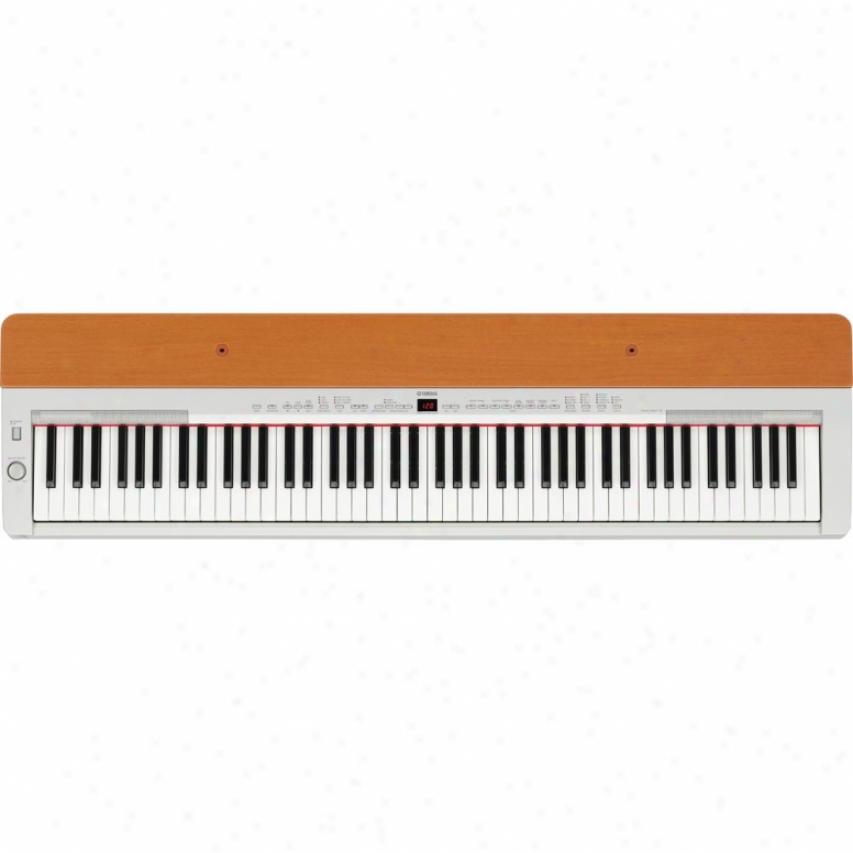 Yamahw P-155 88-key Digital Piano - Silver & Cherry
