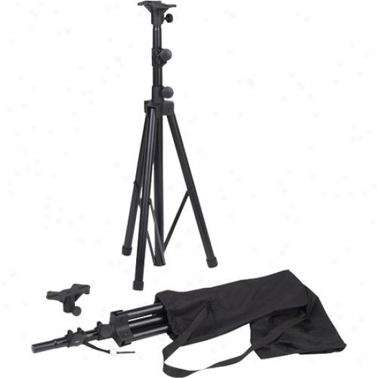Yamaha Span Of Aluminum Tripod Stands For Speakers