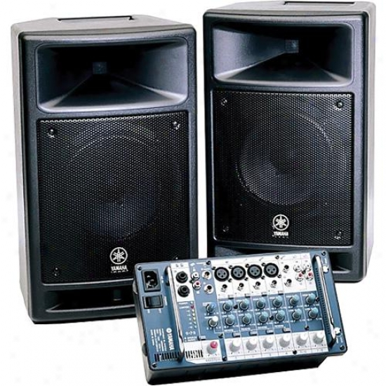 Yamaha Portable Pa System Stagepas 300