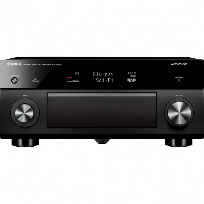Yamaha Rx-a3010bl Aventage 9.2-channel A/v Receiver