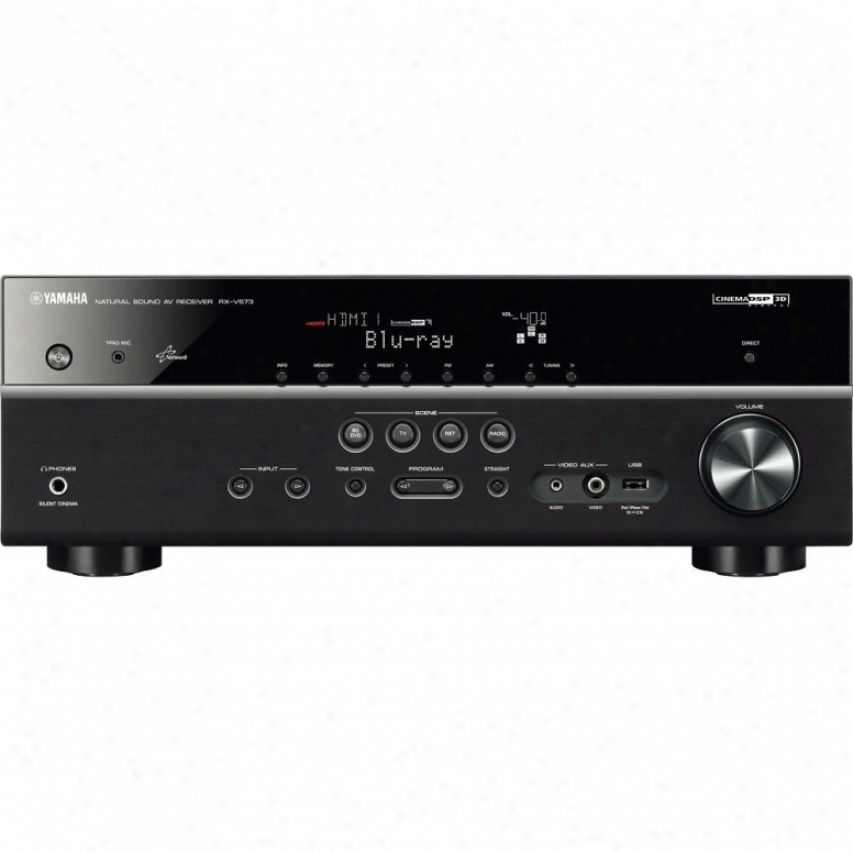 Yamaha Rx-v573 7.1-channel Home Theater Receiver - Black