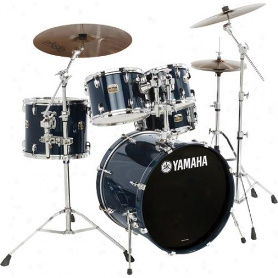 Yamaha Tdfs57ocb 5 Piece Compleye Tour Drum Kit - Ocean Blue