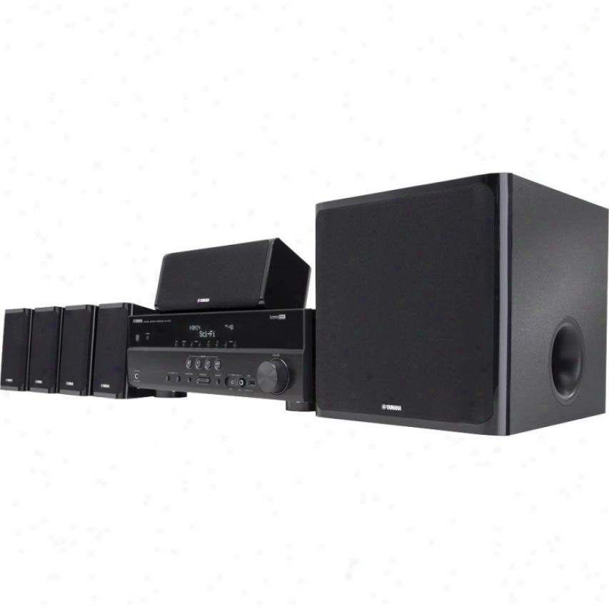 Yamaha Yht-497 5.1-channel Home Theater Speaker System