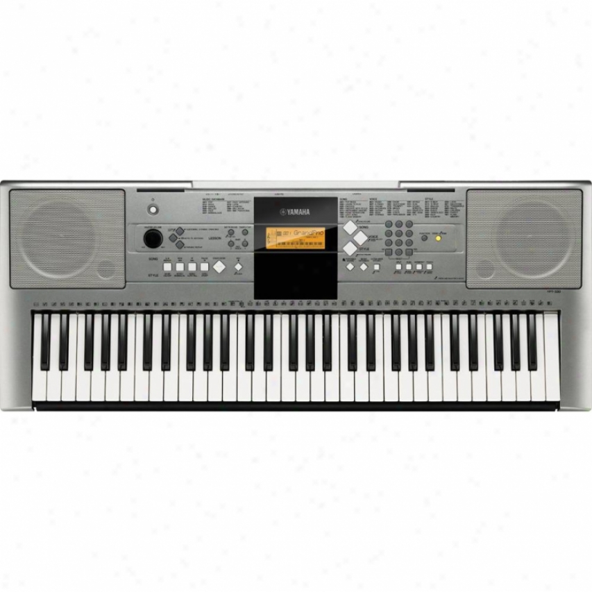 Yamaha Ypt-330-ad 61 Key Keyboard With Ac Adapter