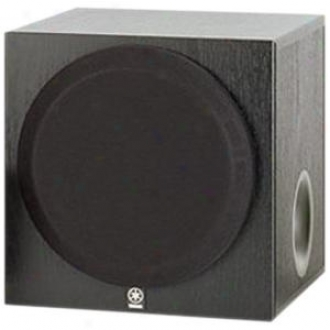 Yamaha Yst-sw012bl Pwwered Subwoofer Speaker