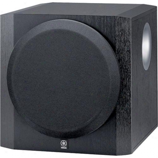 Yamaha Yst-sw216bl Advanced Yst Ii, Front-firing Active Subwoofer - Black