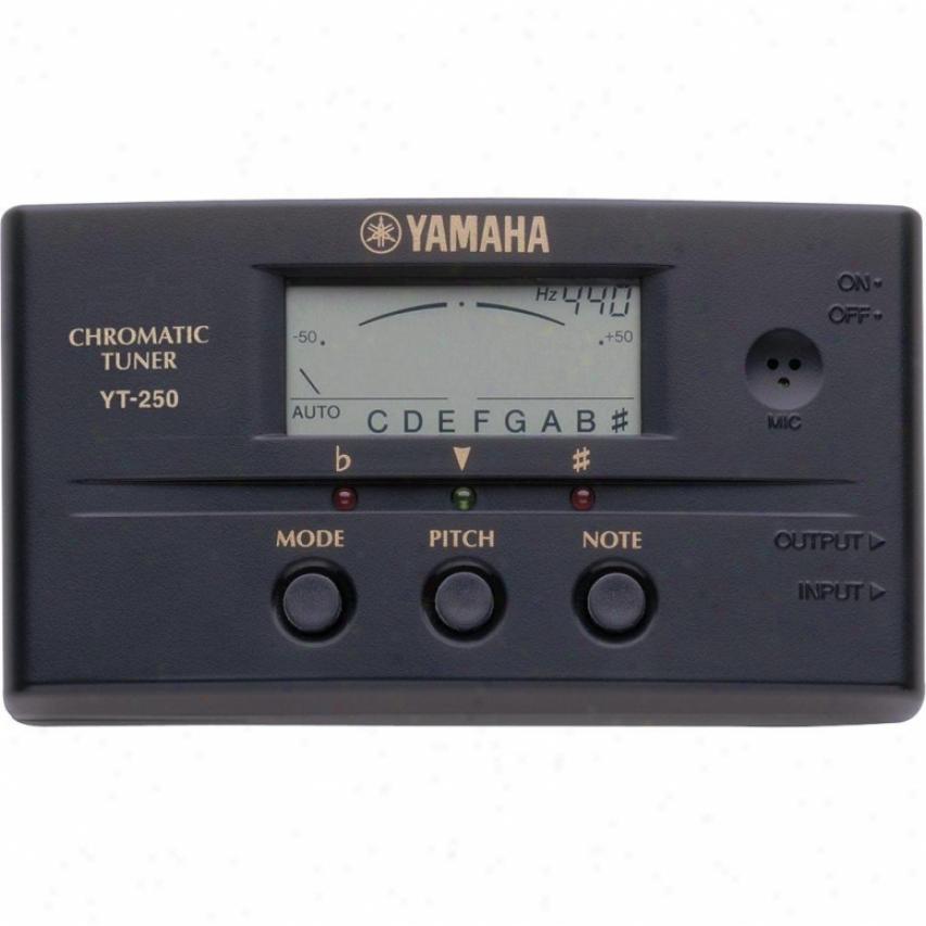 Yamaha Yt250 Chromatic Auto Tuner