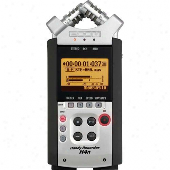 Zoom Audio H4n - Handy Recorder And Mp3 Player