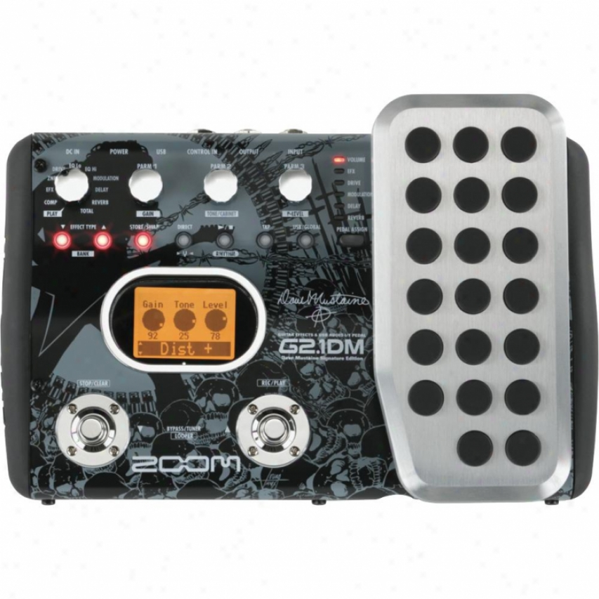 Zoom G2.1dm Multi-effects Pedal & Usb Audio Interface