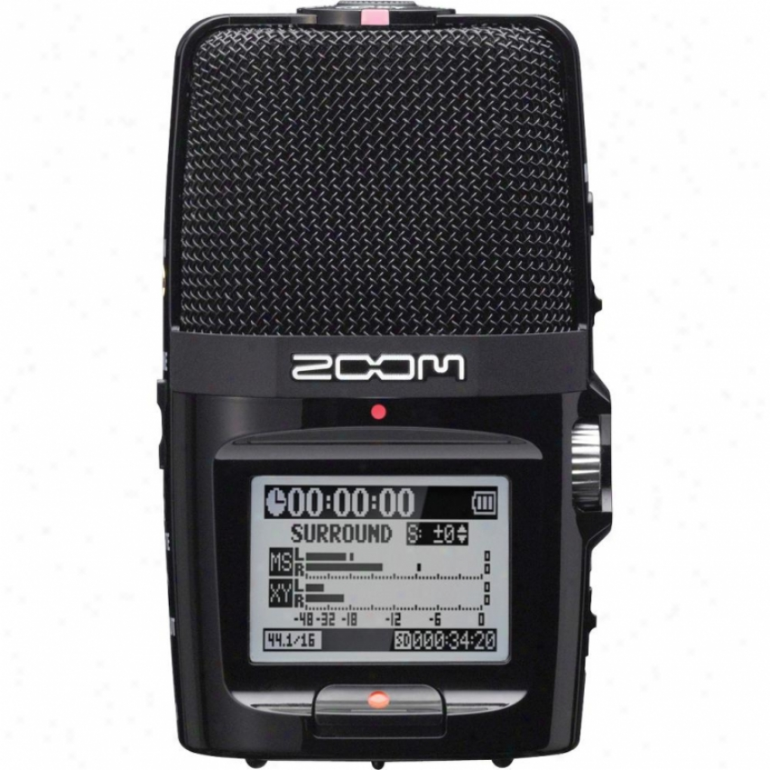 Zoom H2n PortableH andy Recorder