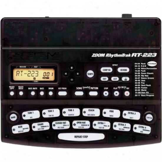 Zoom Rhythm-trak Rt223 Electronic Drum