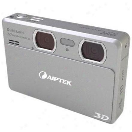 Aiptek Di2j 3d 12mp Digital Camera Ddd21x