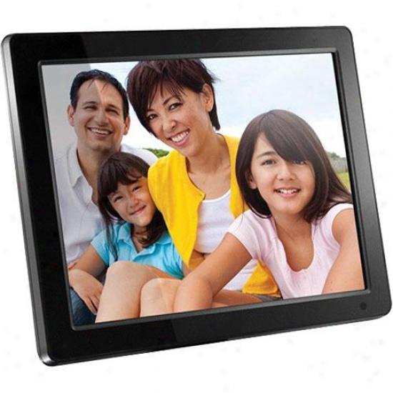 Aluratek 12-inch Digital Photo Frame W/ 512mb Built-in Fame - Admpf512f